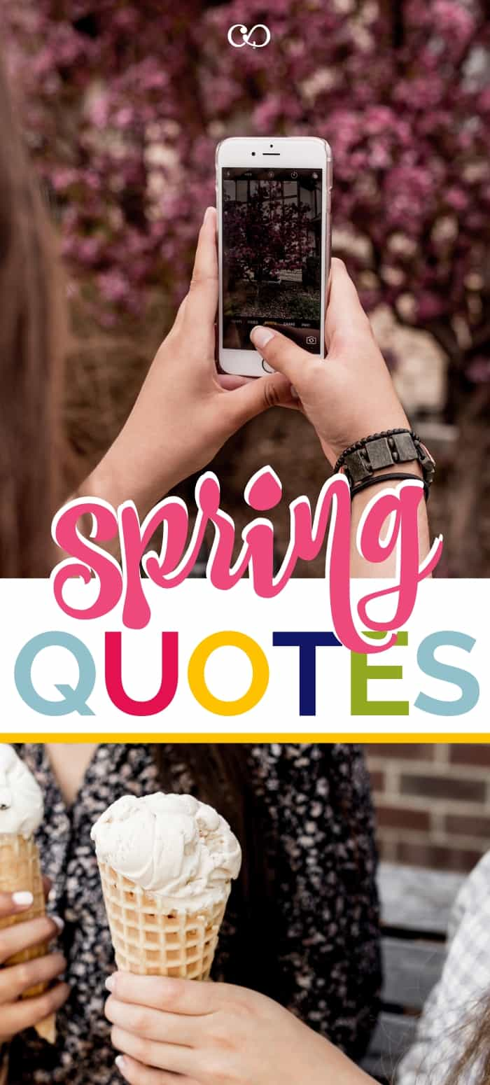 The best Spring Quotes