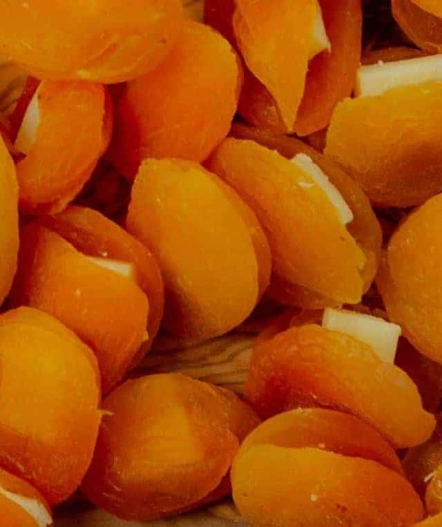Gruyère Cheese Stuffed Dried Apricots Cold Party Appetizer
