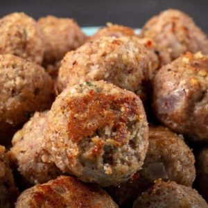 Freshly Cooked (gluten-free) Turkey Meatballs